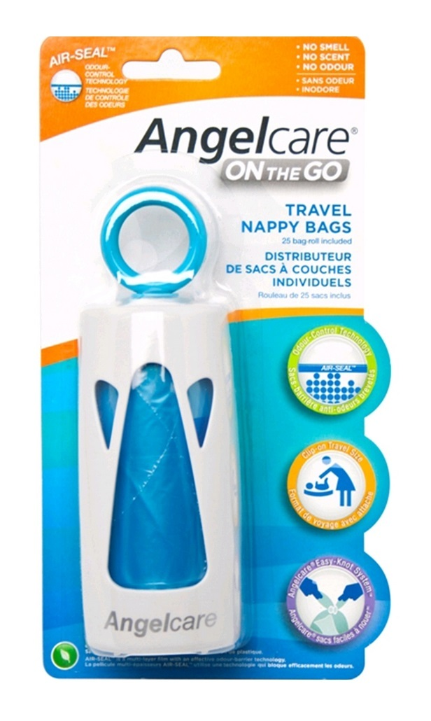 Angelcare on the Go Nappy Bags
