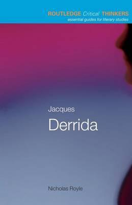 Jacques Derrida by Nicholas Royle