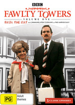 Fawlty Towers - Vol. 1: Basil The Rat on DVD