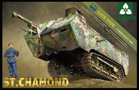Takom French Heavy Tank St.Chamond Late Type