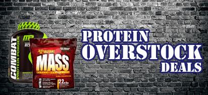 Protein Overstock Deals!