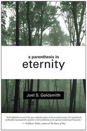A Parenthesis in Eternity by Joel S Goldsmith