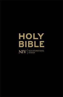 NIV Holy Bible - Anglicised Black Gift and Award by New International Version image