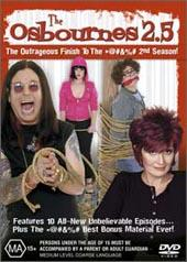 Osbournes, The - Season 2.5 on DVD