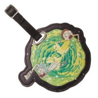 Rick and Morty Portal - PU Luggage Tag
