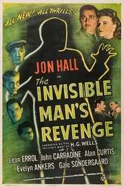 Invisible Man's Revenge on DVD