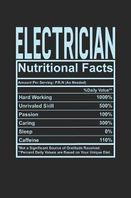Electrician Nutritional Facts by Dennex Publishing