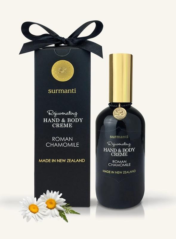 Surmanti Hand + Body Creme - Roman Chamomile (120ml)