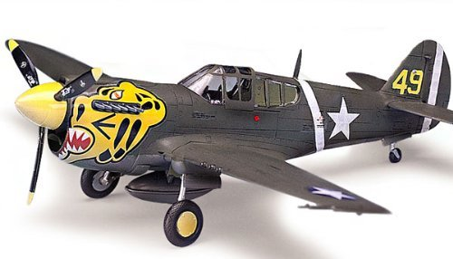 Academy P-40E Warhawk 1/72 Model Kit