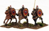 Gripping Beast: Late Roman - Armoured Cavalry (3pc)