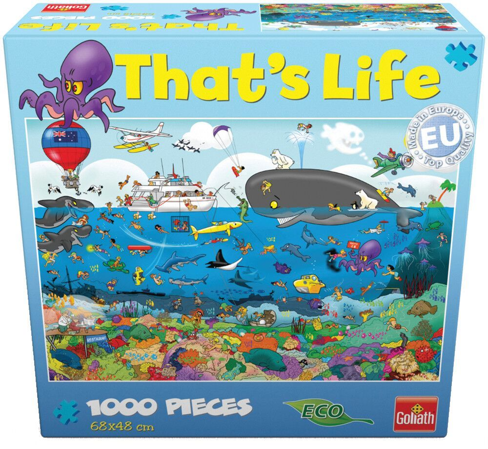 That's Life 1,000 Piece Jigsaw (Great Barrier Reef) image