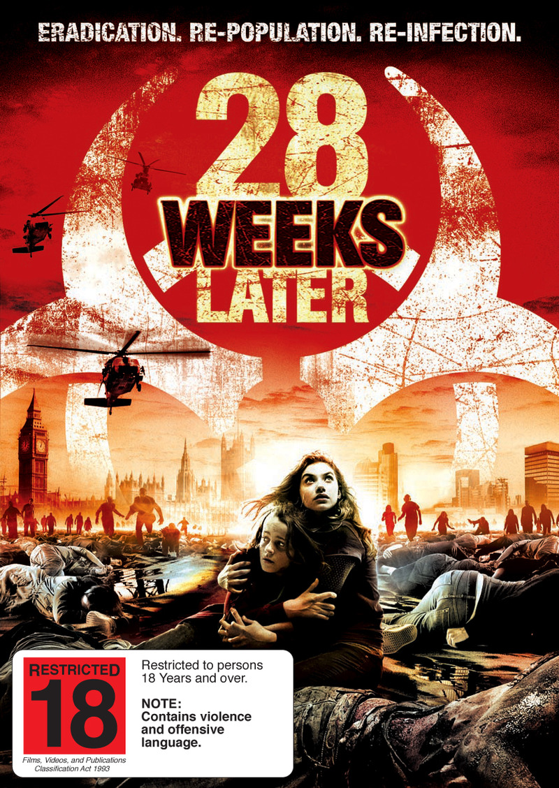 28 Weeks Later on DVD image