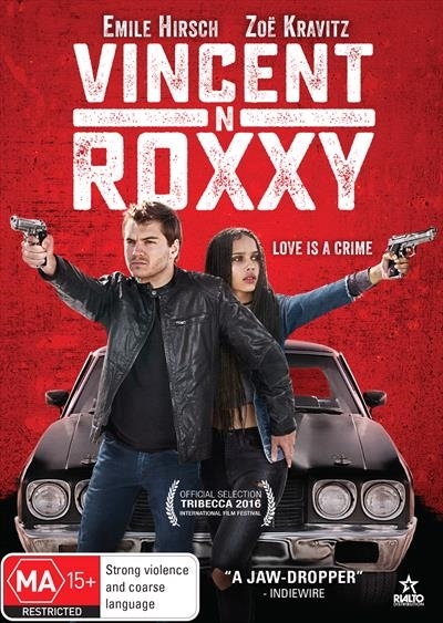 Vincent N Roxxy on DVD image