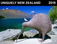 Uniquely New Zealand 2019 Horizontal Wall Calendar