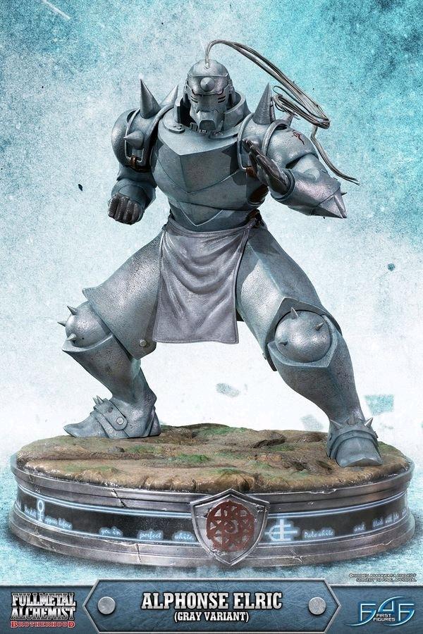 "Fullmetal Alchemist: Alphonse Elric (Grey Ver.) - 21"" Statue image"