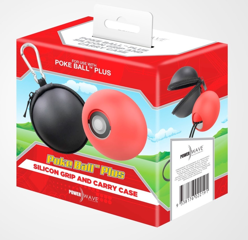 Powerwave PokeBall Plus Silicon Cover and Carry Case for Switch image