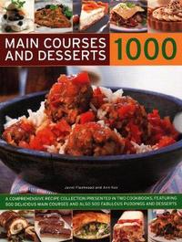 1000 Main Courses & Desserts by Jenni Fleetwood image