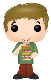 Scooby Doo - Shaggy (with Sandwich) Pop! Vinyl Figure image