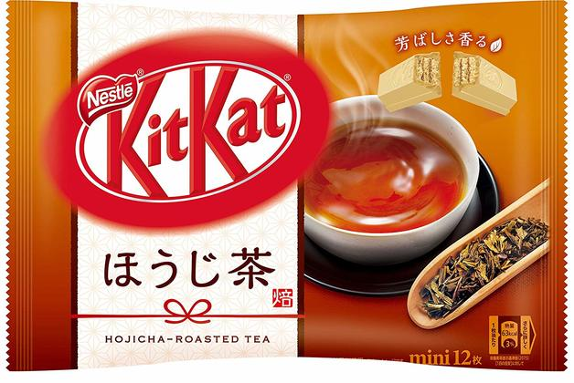 KitKat Mini: Hojicha Green Tea - 139 g, 12pk