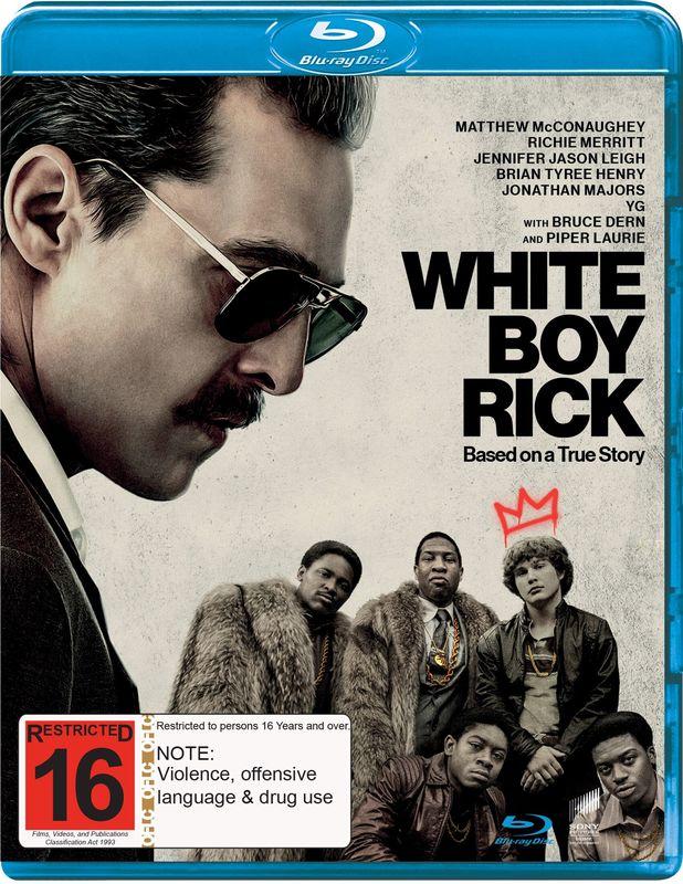 White Boy Rick on Blu-ray