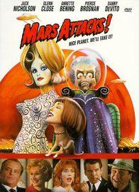 Mars Attacks on DVD image