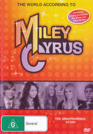 World According To Miley Cyrus, The - The Unauthorised Story on DVD