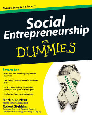 Social Entrepreneurship for Dummies by Mark Durieux