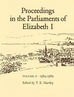 Proceedings in the Parliaments of Elizabeth I: v. 3 image