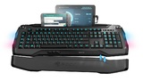 ROCCAT Skeltr Smart Communication RGB Gaming Keyboard for PC Games