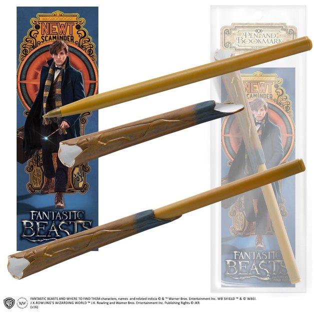 Fantastic Beasts: Wand Pen & Bookmark Set