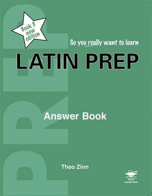 Latin Prep: Book 3 by Theo Zinn image