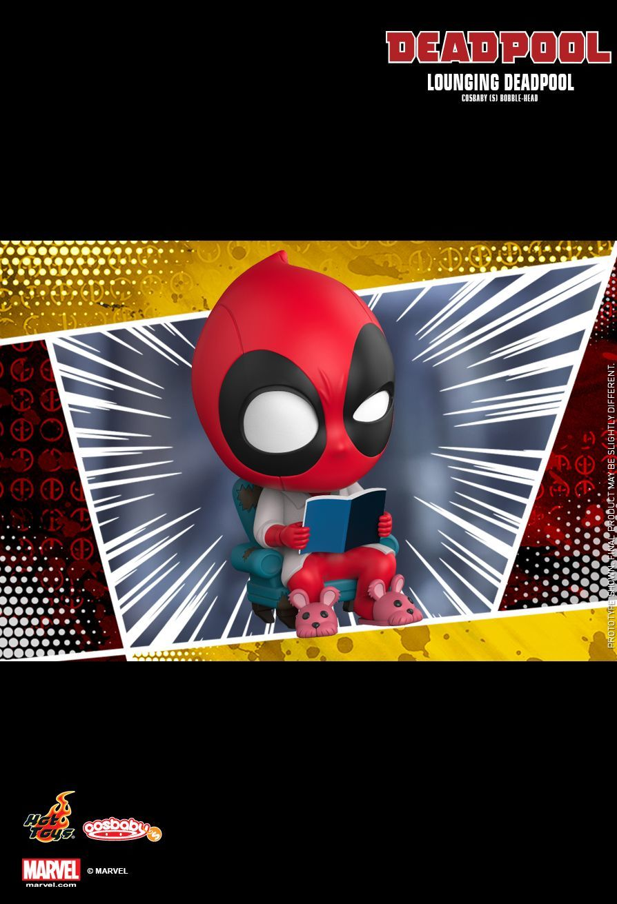 Deadpool: Lounging - Cosbaby Figure image