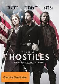 Hostiles on DVD