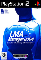LMA Manager 2004 for PlayStation 2