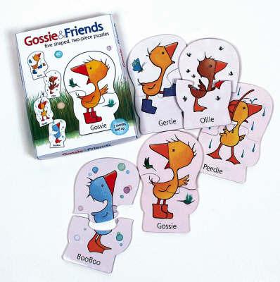Gossie and Friends Jigsaw Box by Olivier Dunrea