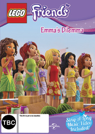 Lego Friends Volume 5 Emma's Dilemma on DVD