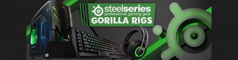 Gorilla Rigs X SteelSeries this July!