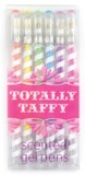 International Arrivals: Totally Taffy Scented Gel Pens - Set of 6