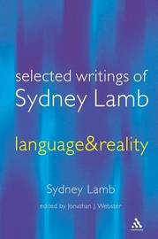 Selected Writings of Sydney Lamb by Sydney M. Lamb image