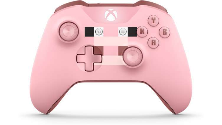 Xbox One Wireless Controller - Minecraft Pig (with Bluetooth) for Xbox One image