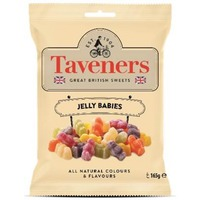 Taveners Great British Sweets Jelly Babies (165g)