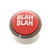 Blah Blah Button - Desk Toy image