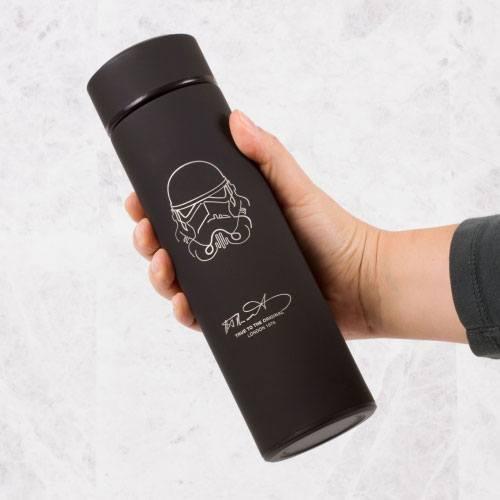 Star Wars: Original Stormtrooper Vacuum Flask with Strainer image