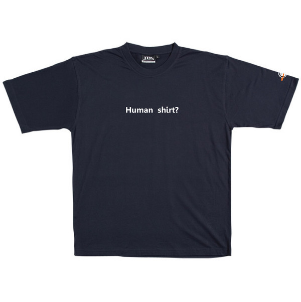 Human Shirt - Tshirt (Navy) for