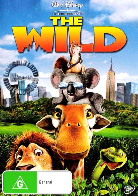 The Wild on DVD image