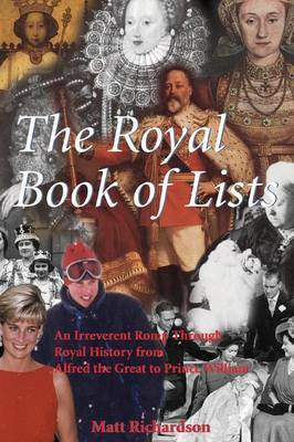 The Royal Book of Lists by Matt Richardson image