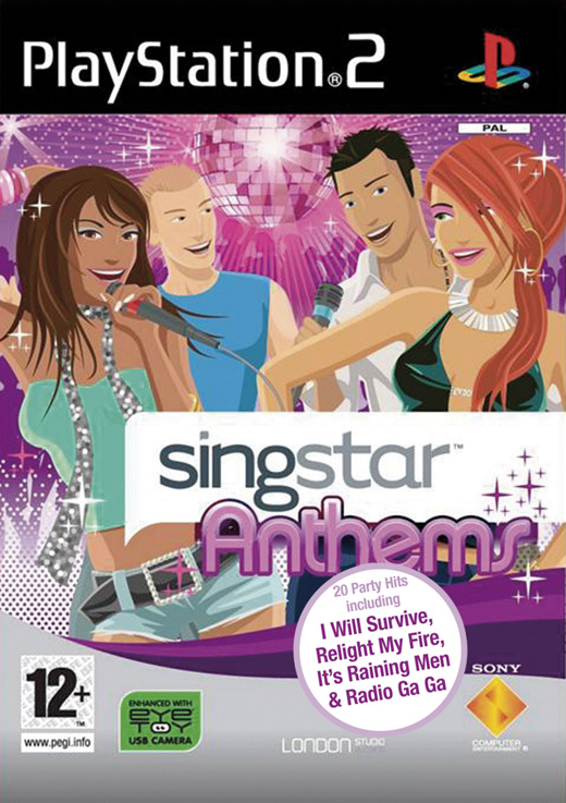 SingStar Anthems with Microphones for PlayStation 2 image