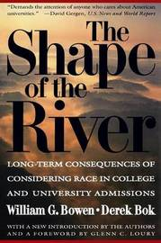 The Shape of the River by William G. Bowen