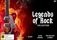 Legends of Rock Collection on DVD