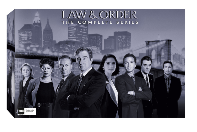 Law and Order - Complete Collection (119 Disc Box Set) on DVD